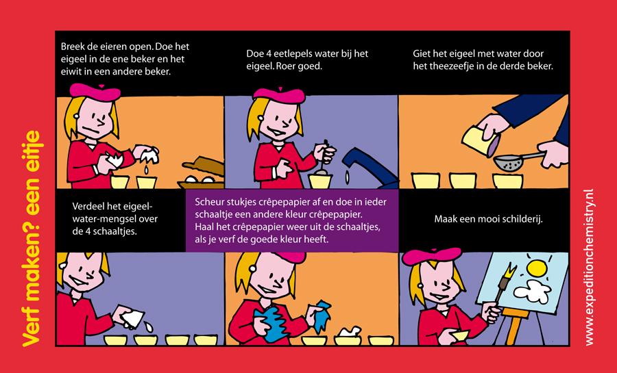 Leuke leerzame proefjes voor kinderen op peuter kleuter kids nieuws - Maken rode verf ...
