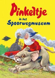 pinkeltje_in_het_spoorwegmuseum